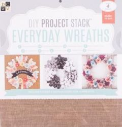 "DCWV Everyday Wreaths DIY Project Stack 12"" x 12"""
